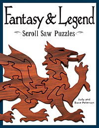 Fantasy and Legend Scroll Saw Puzzles Book