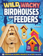 Wild and Wacky Bird Houses and Feeders also includes helpful hints on squirrel control, bird seed, perches and sizing birdhouse holes, as well as fun facts and trivia that will turn each woodworking project into a uniquely enjoyable experience.