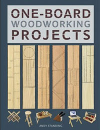 One-Board Woodworking Projects  Book