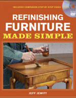 Refinishing Furniture Made Simple Book /DVD Set