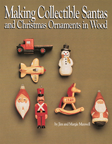 Making Collectible Santas & Christmas Ornaments in Wood
