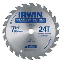 "Irwin 7-1/4"" x 24 Teeth Circular Saw Blade 15130"