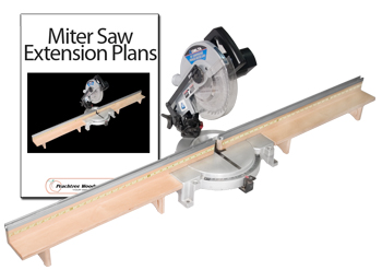 Miter Saw Extension Fence Kit