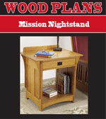 Mission Nightstand