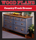 Country-Fresh Dresser