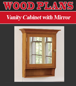 Vanity Cabinet with Mirror