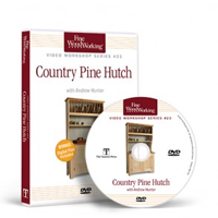 Country Pine Hutch with Andrew Hunter DVD