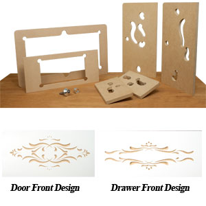 Door & Drawer Router Carving Template Set