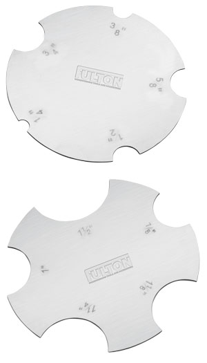 Concave Scrapers (2 pack)
