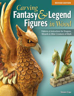 Carving Fantasy & Legend Figures in Wood