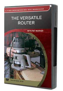 The Versatile Router by Pat Warner - DVD