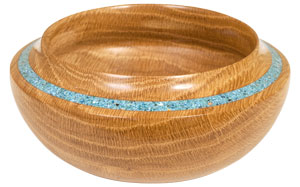 Sample Bowl with Inlace