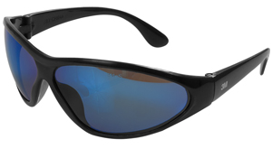 Ice Blue Mirror Safety Glasses