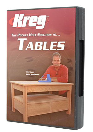 Kreg® Pocket Hole Solution to Tables