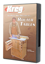 Pocket Hole Joinery Router Tables