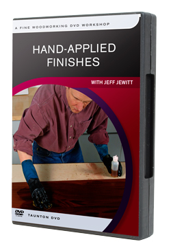 Hand Applied Finishes DVD