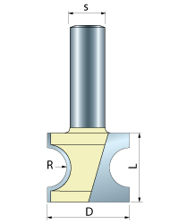 Bull Nose Router Bits