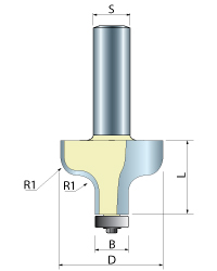 Ogee Router Bit