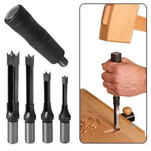 Mortise Chisel Set with Handle