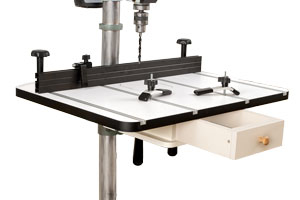 Deluxe Large Drill Press Table For Floor Model Machines