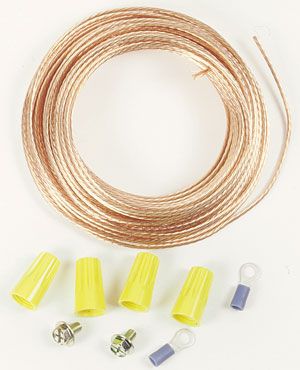 50' Dust Collection Hose Grounding Kit