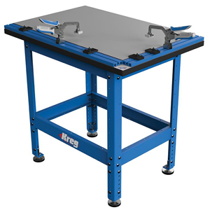 Clamp Table and Steel Stand Combo