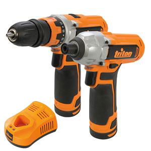 T12 Drill Driver & Impact Driver Twin Pack 12V