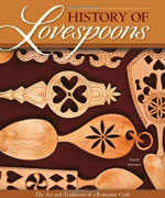 History of Lovespoons Book