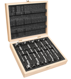 16 Piece Precision Shear™ Forstner Bit Set