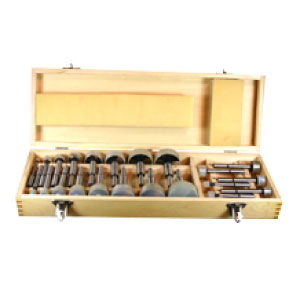22 Piece Forstner Bit Set
