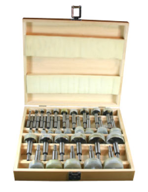 31 Piece Forstner Bit Set
