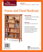 Frame-and-Panel Bookcase
