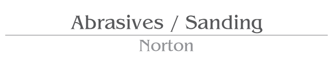 Abrasives / Sanding Norton Products