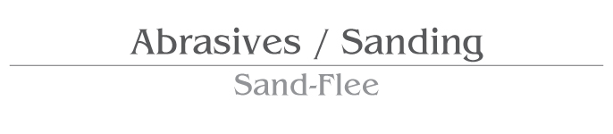 Abrasive/ Abrasive Sand-Flee Products