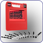 25 Piece Brad Point Drill Bit Set