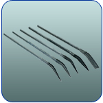 5 Piece Curved Needle Nose File Set