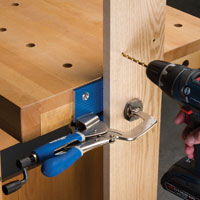 The Kreg Bench Vise Clamps System