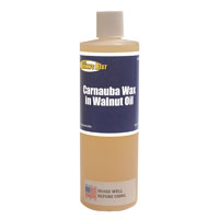 Ron Brown's Best Carnauba Wax in Walnut Oil - 16 oz bottle