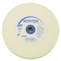 Norton White Grinding Wheel