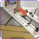 Cove Cutting Table Saw Jig