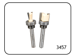 2 Piece Mini Router Bit Set