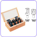 8 Piece Plug Cutter Set