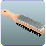 File Card and Brush