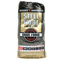 Steel Wool, Super Fine, GRADE #0000, 12 Pads