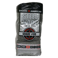 Steel Wool, Very Fine, GRADE #00, 12 Pads