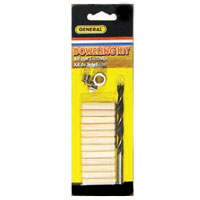 General Tools 1/4-Inch Dowel Kit