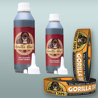 Gorilla Glue and Gorilla Tape