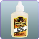 Gorilla Glue 5201204 Glue Dries White Bottle, 2 Ounce