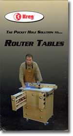 Pocket Hole Joinery Router Tables with John Sillaots DVD