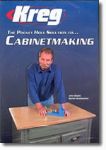 Pocket Hole Joinery Cabinetmaking with John Sillaots DVD